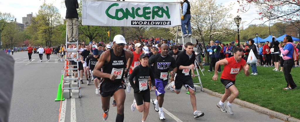support the churchill tavern team for the concern worldwide spring run