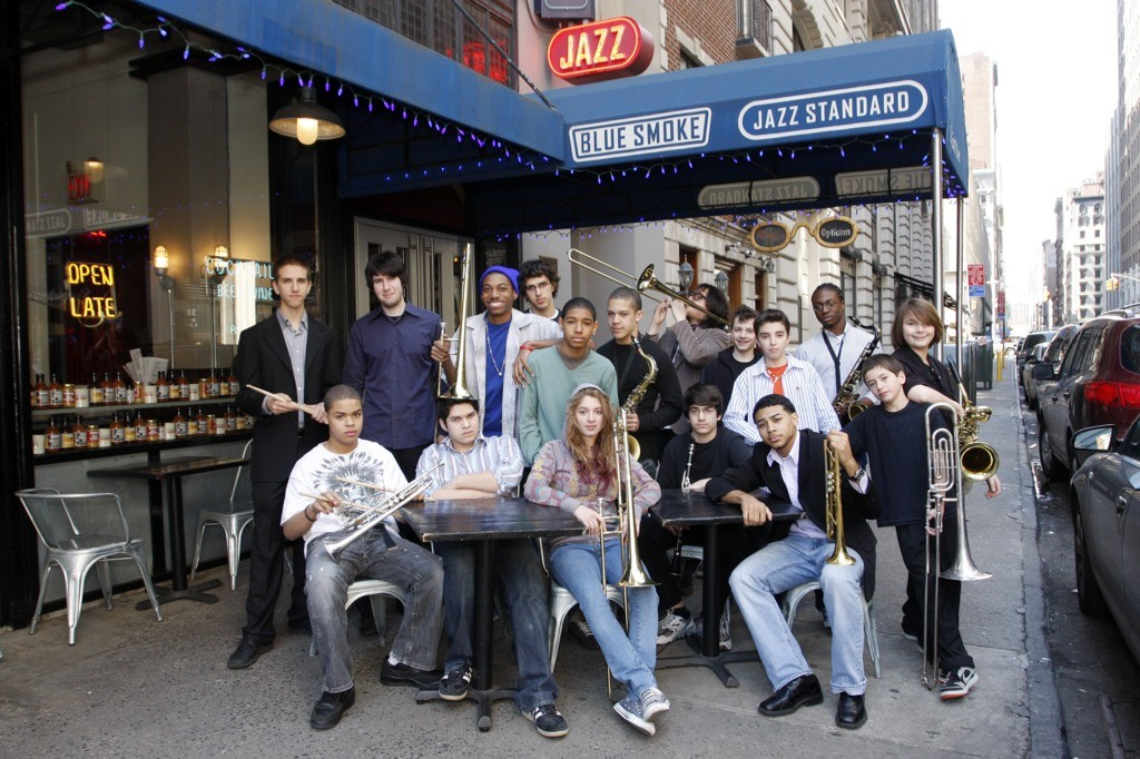 jazz standard youth orchestra performs weekly
