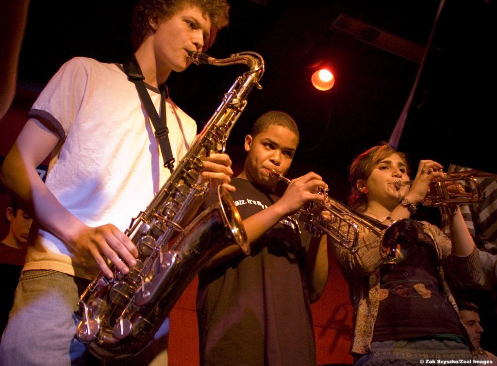 kids jazz orchestra in nyc