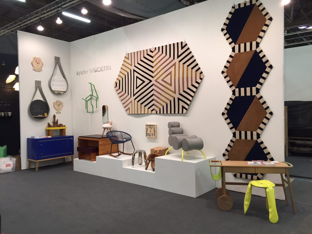 NoMad gallery kinder Modern shows at the  Architectural Digest Design Show