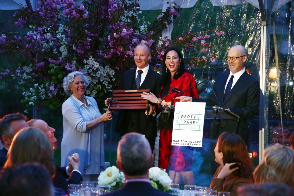 The Madison Square Conservancy Party in the Park gala was a huge success