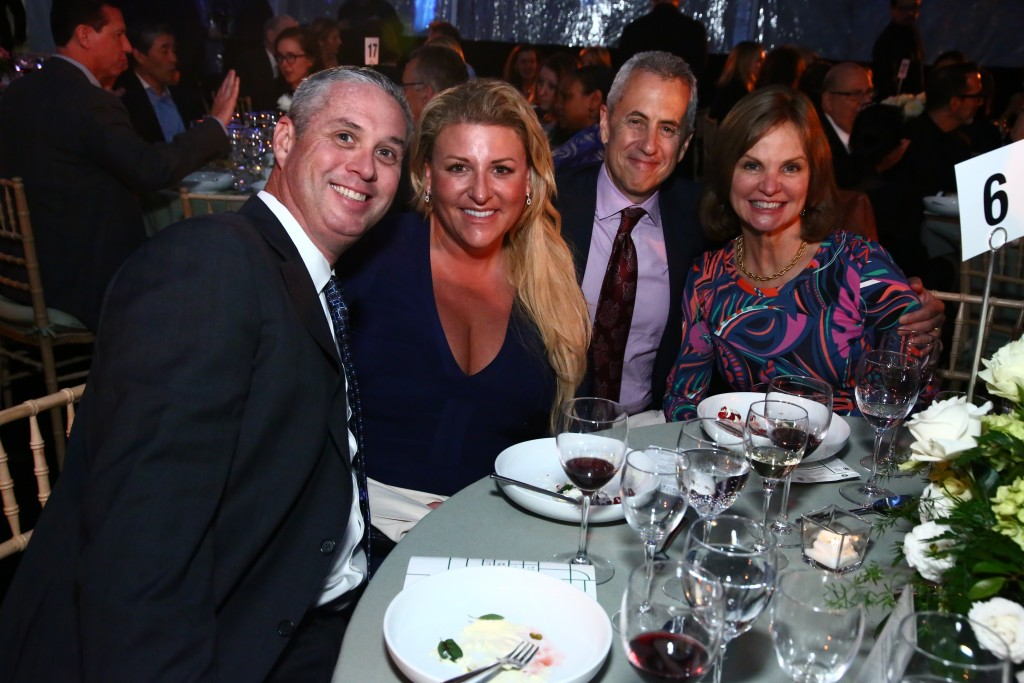 The Madison Square Conservancy Party in the Park gala was a huge success.