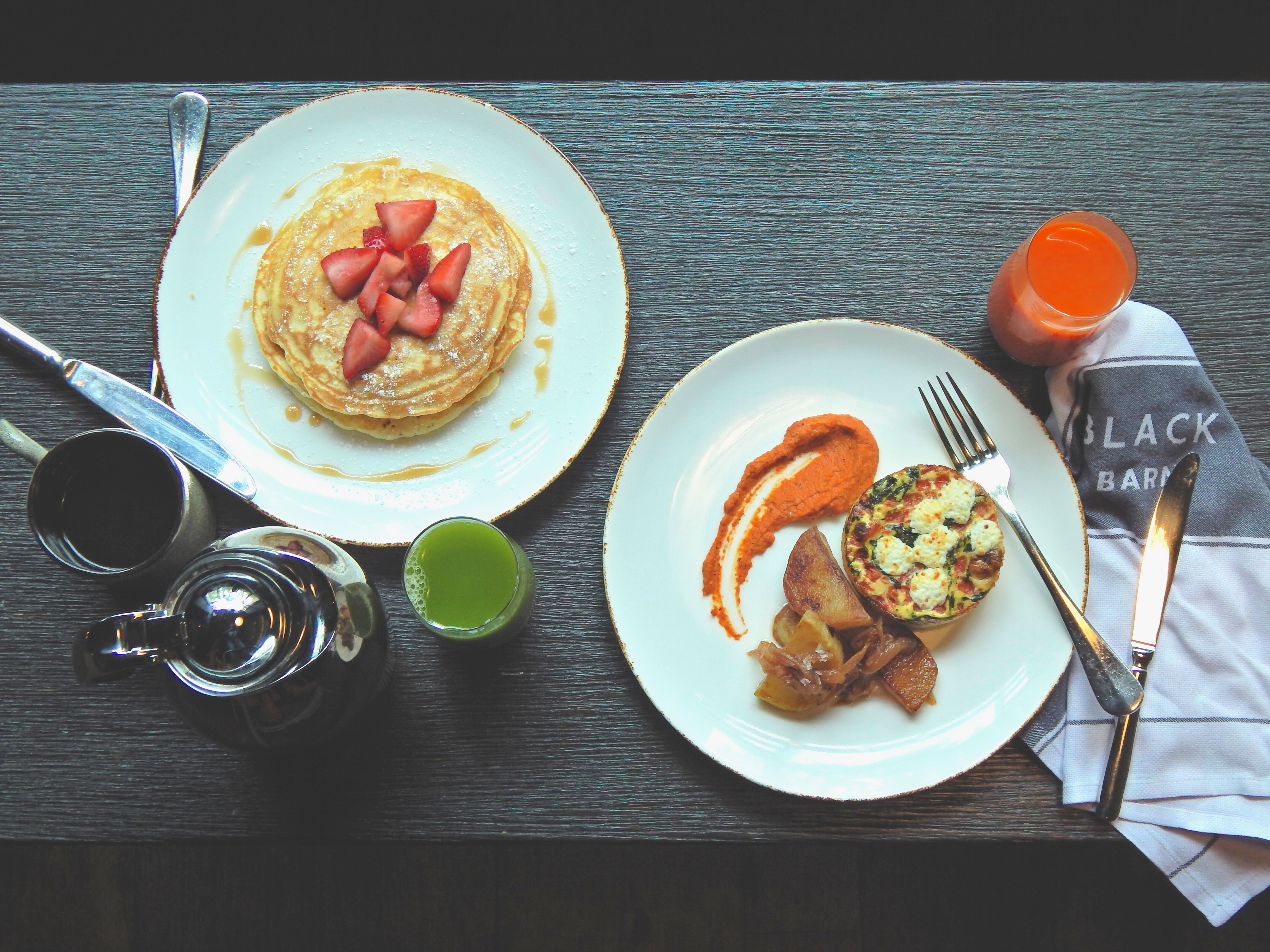 John Doherty's Black Barn launches breakfast and outdoor service