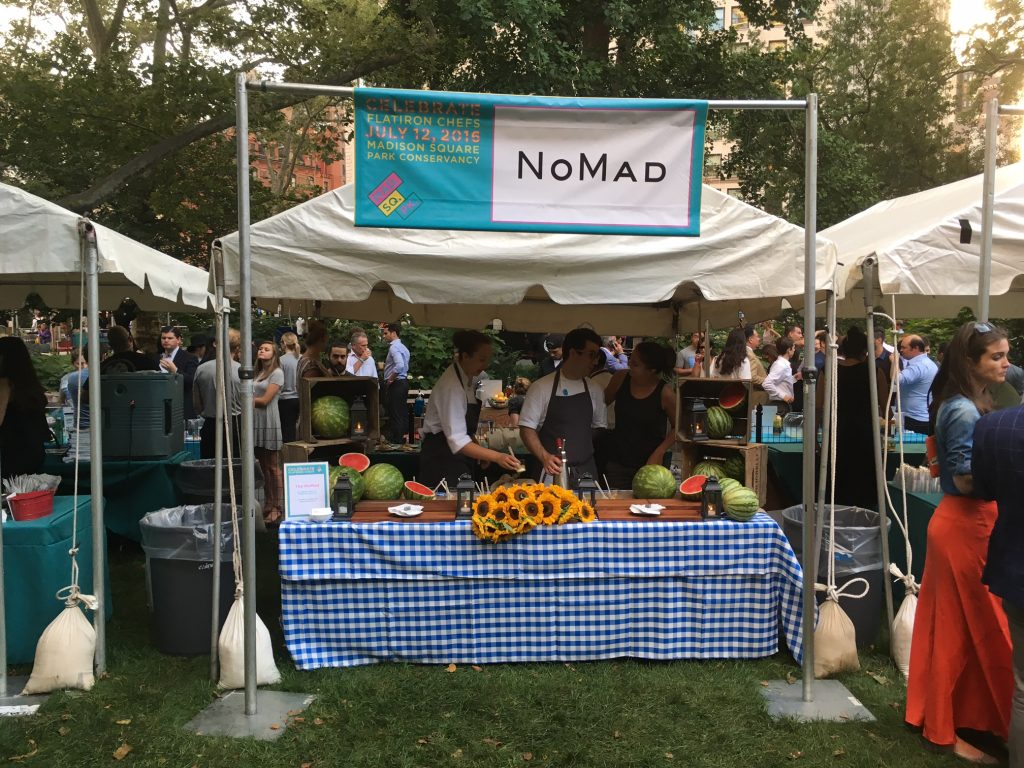 2016 Celebrate Flatiron Chefs sells out Madison Square Park
