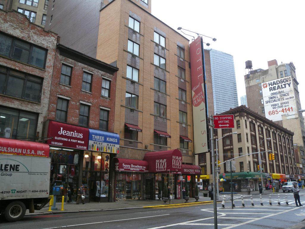 broadway plaza hotel in nomad new york