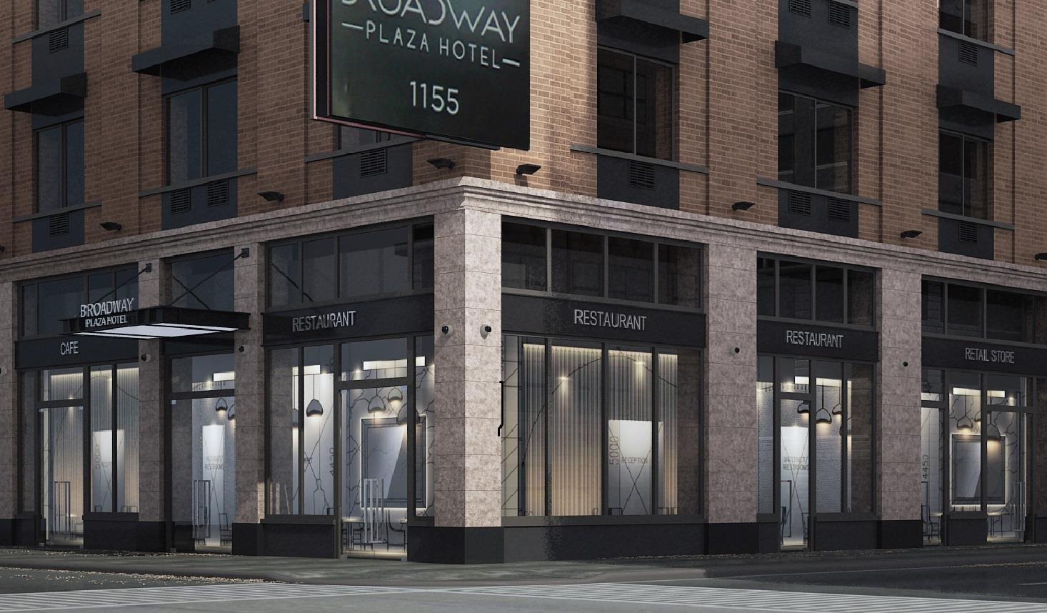 broadway plaza hotel rendering approved by landmarks