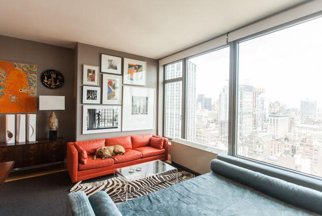 Greg Ruggeri and Craig Longhurst's apartment in nomad