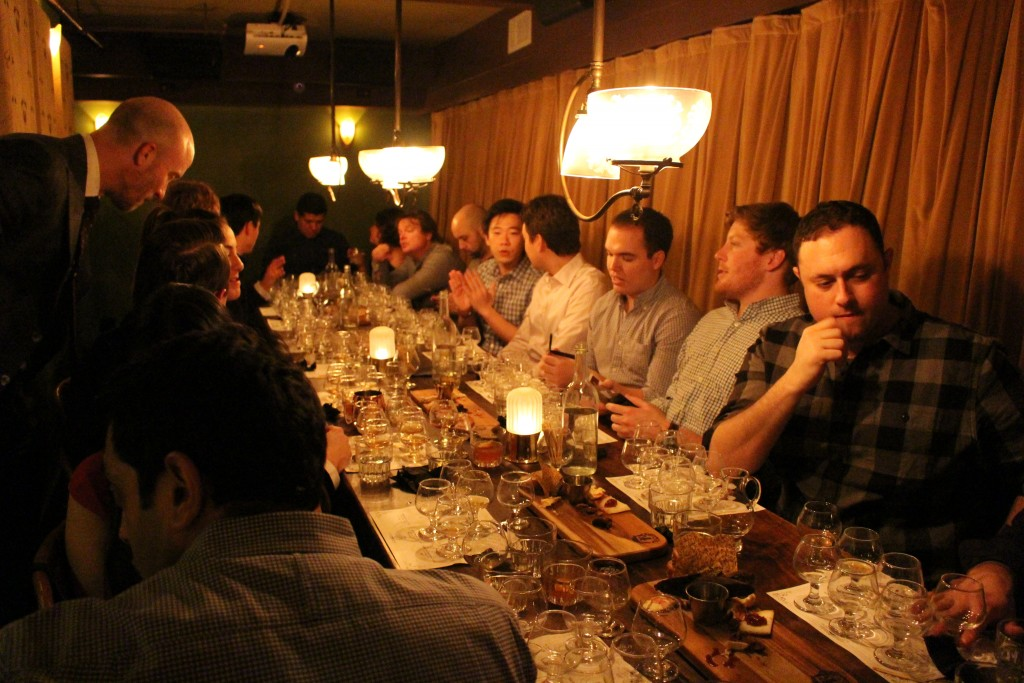 the scotch 101 whiskey tasting at the flatiron room in NoMad is fun and educational