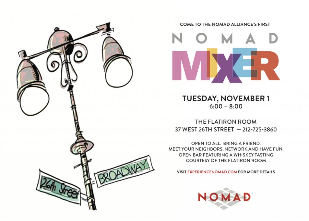 nomad mixer flatiron room happy hour
