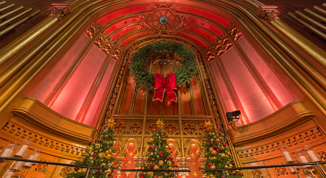 Attend the annual advent concert at marble collegiate church