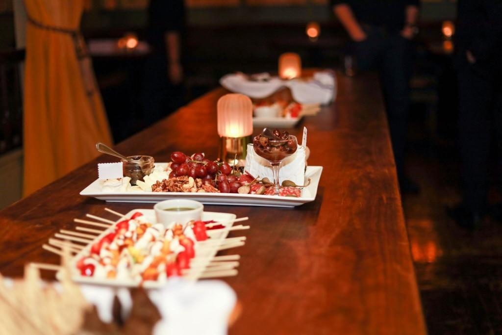 Delicious spread at The Flatiron Room