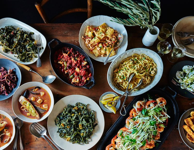 Explore Christmas Eve meals in NoMad, including the feast seven fishes