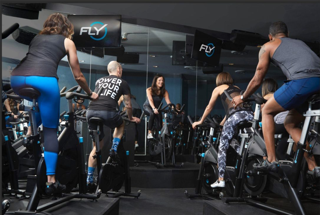 Schedule a class now at Flywheel Gansevoort Park NoMad