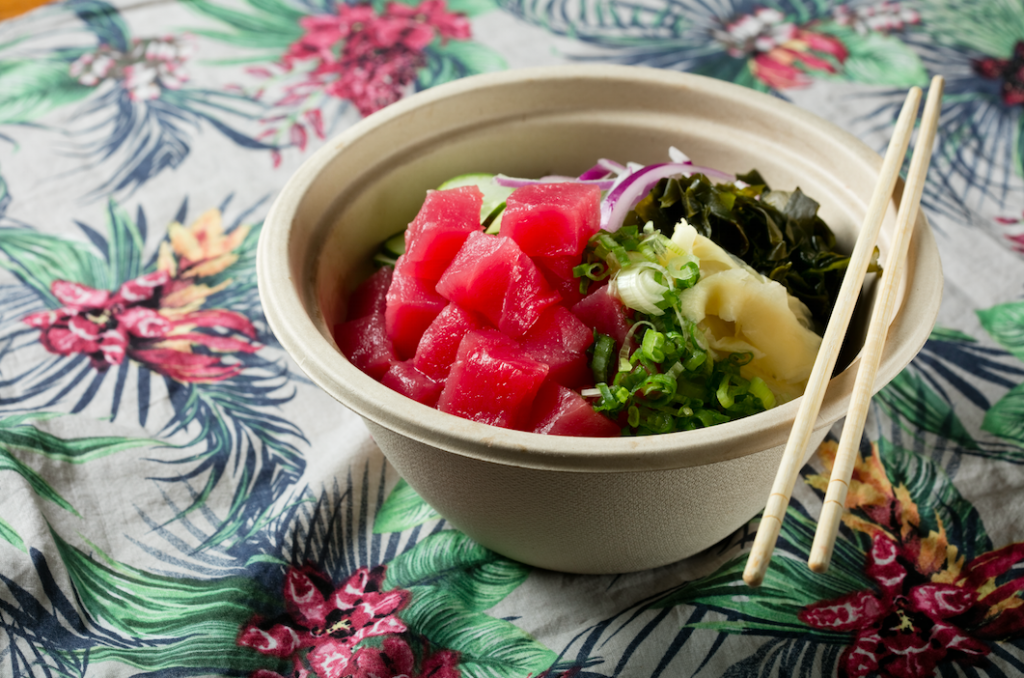 Try out Maui Onion for their delicious poke