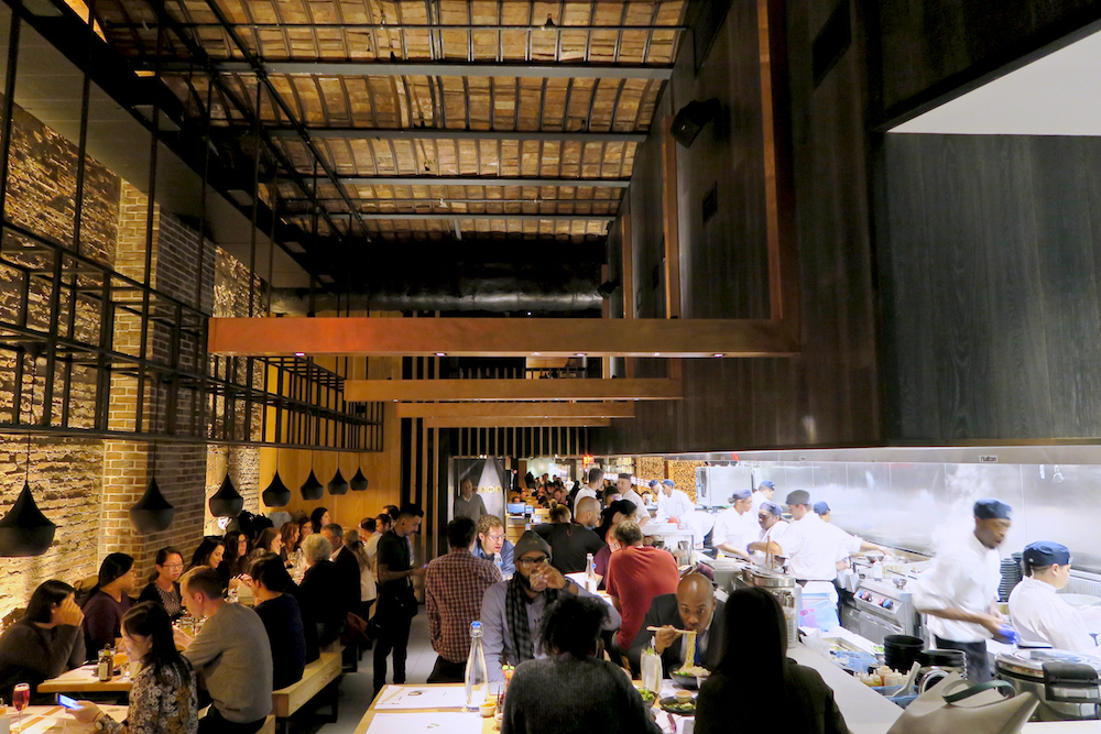 Visit Wagamama NoMad NYC for the sleek interior design