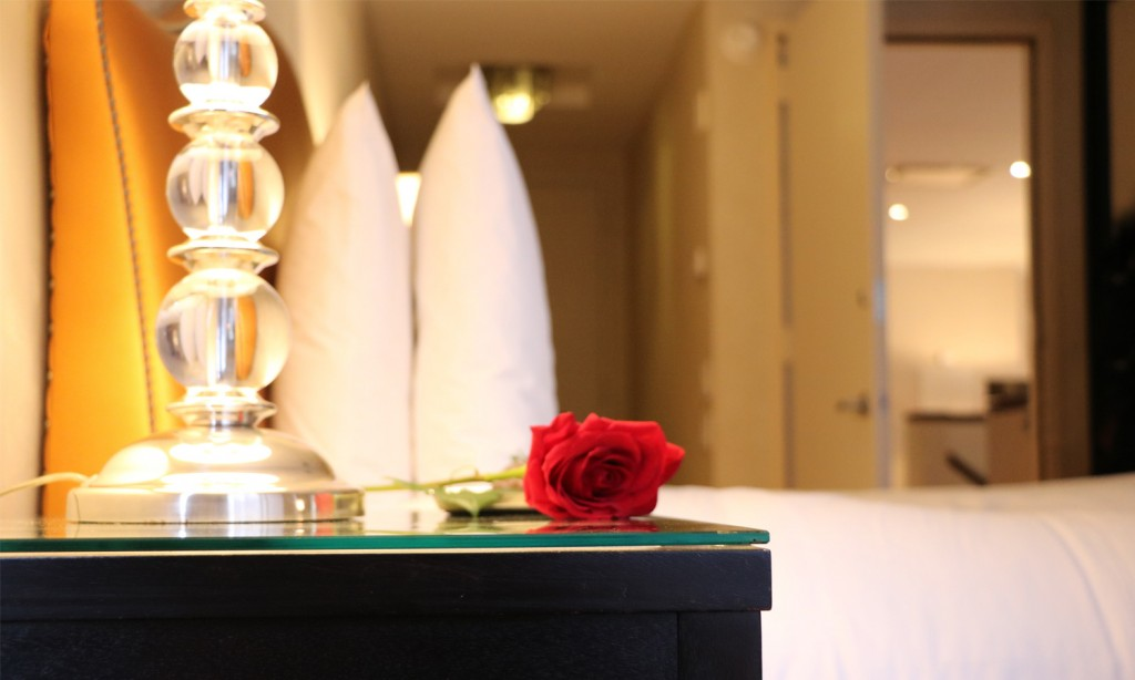 Enjoy the Gansevoort Park Get Love special deal for Valentine's Day in NYC