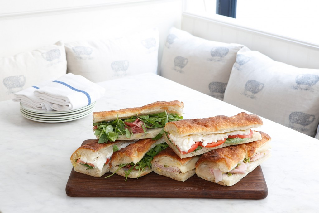 La Pecora Bianca offers NoMad catering service with panini