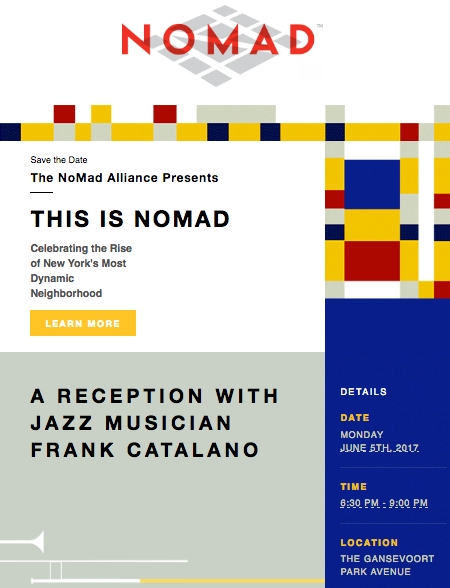 "Join us for the ""This Is NoMad"" NoMad Alliance Gala"