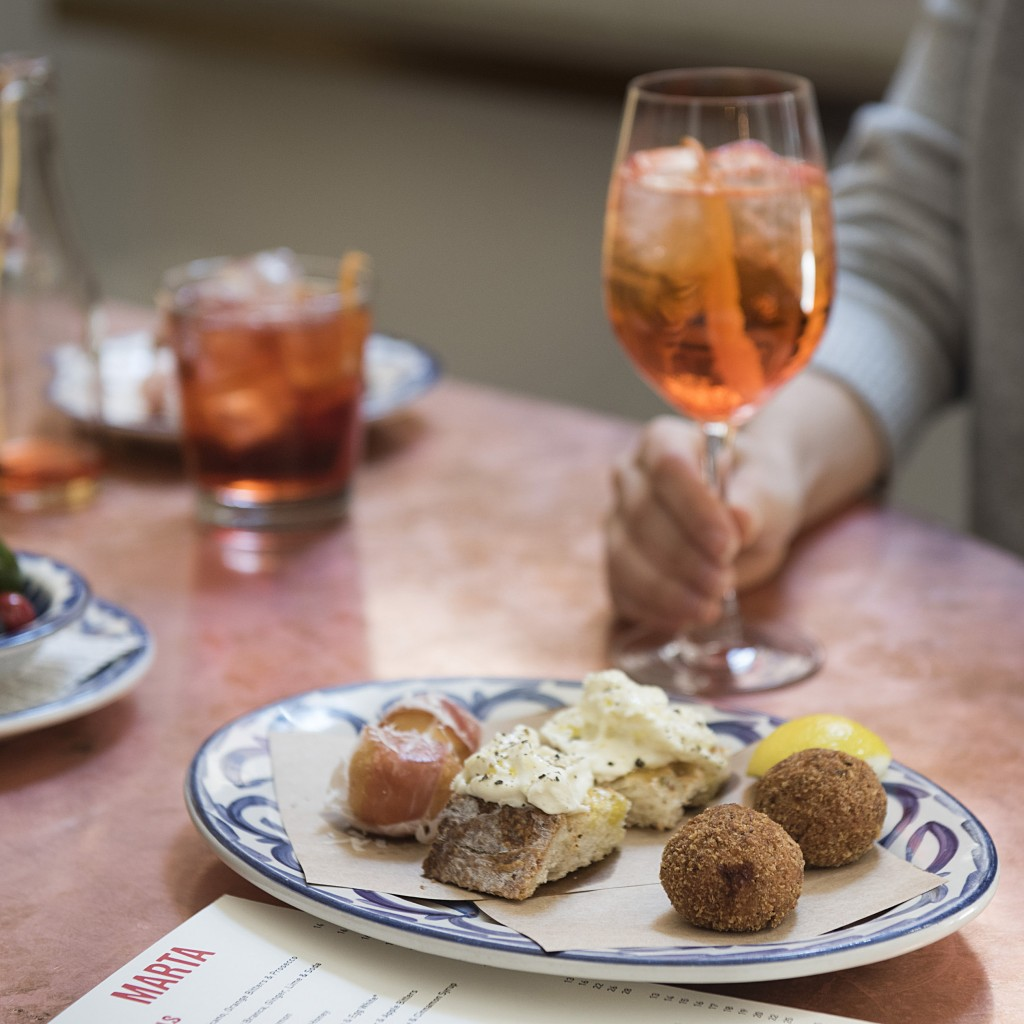 Danny Meyer's Marta Happy Hour