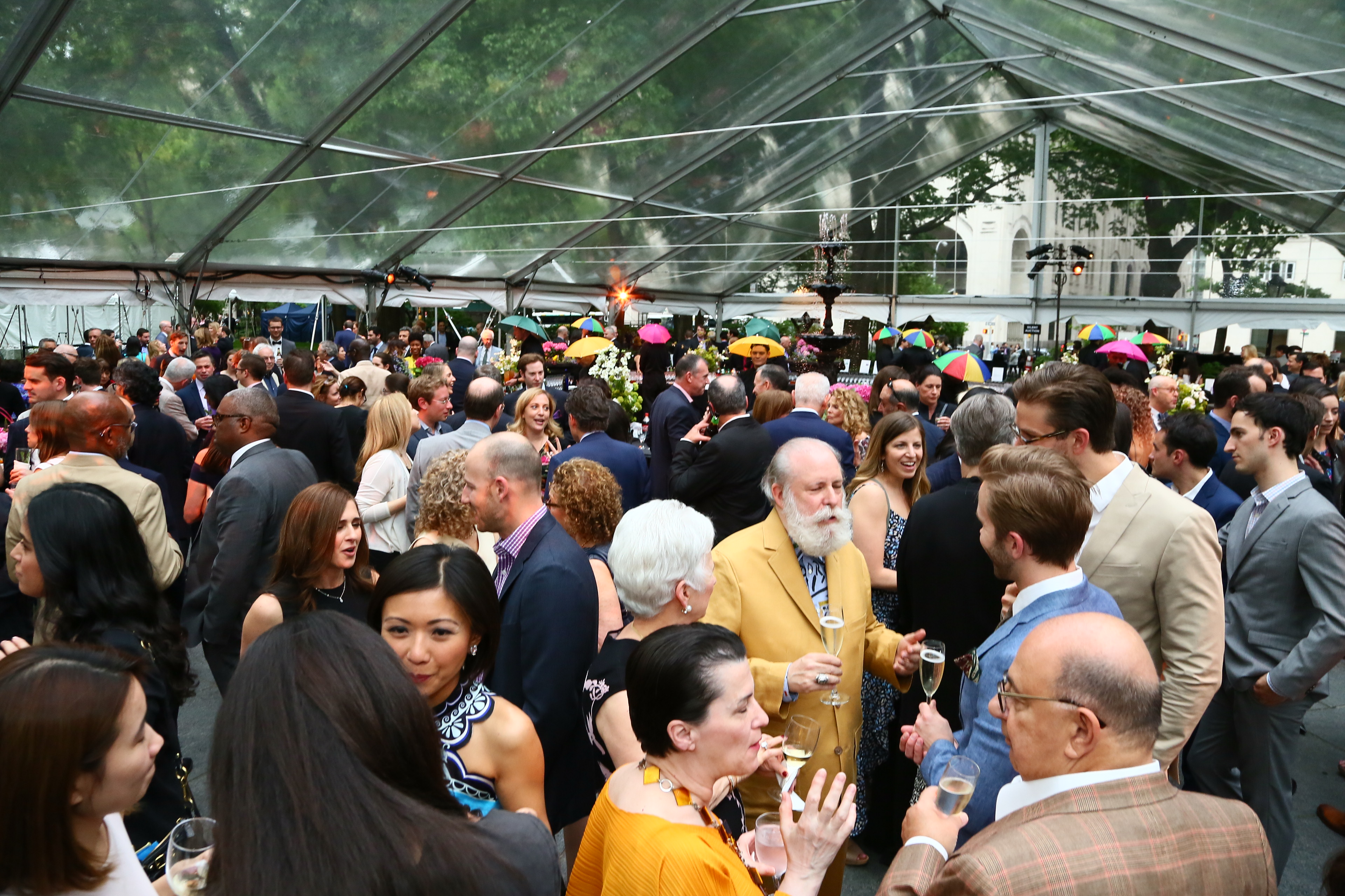 The 2017 Madison Square Park Conservancy Party in the Park Gala was a huge success.