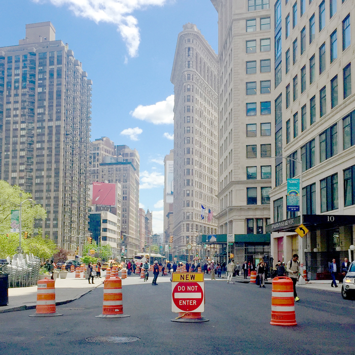 Learn about the latest Madison Square Park construction