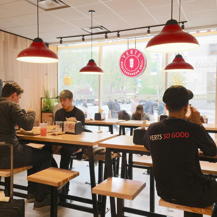 Try the Verts fast casual restaurant in NoMad NYC.