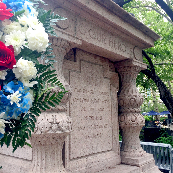 Visit the flag in Madison Square Park as part of your Memorial Day activities in NYC.