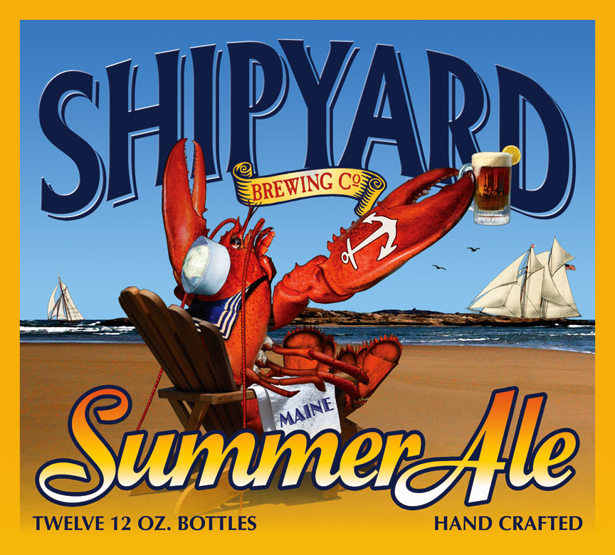 shipyard summer ale brewing