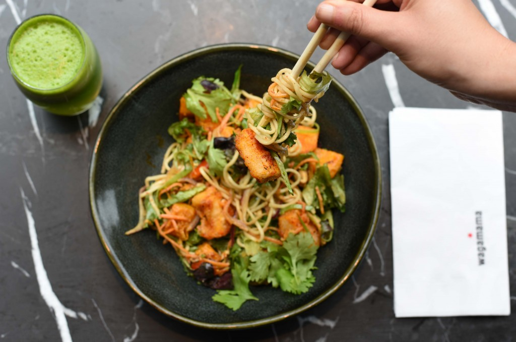Chili Soba Salad on Wagamama's Summer Menu