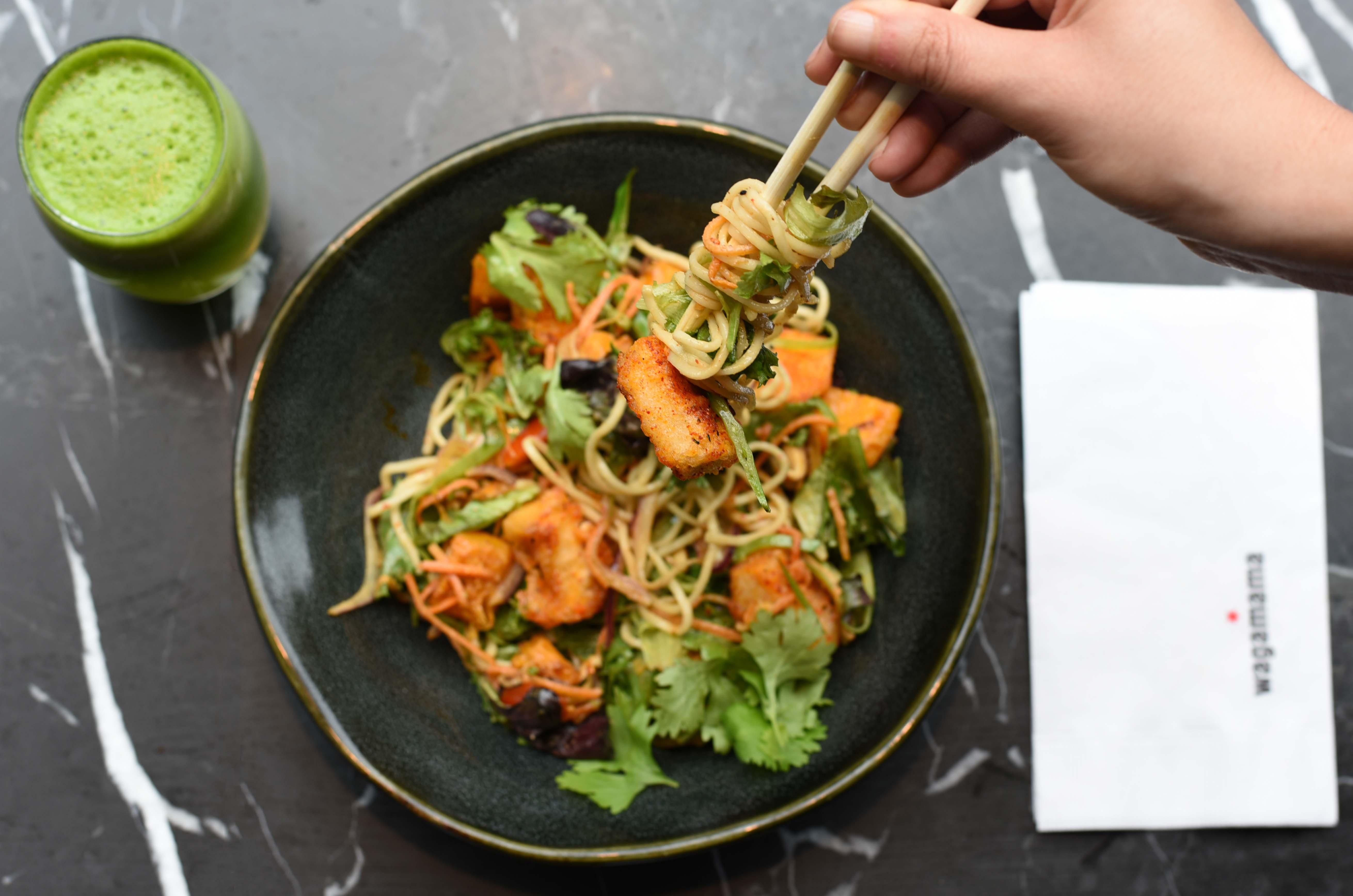 Chili Soba Salad on Wagamama's Summer Menu