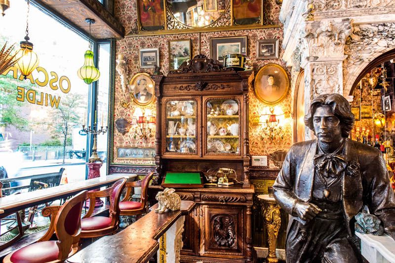 crazy bar in nomad nyc the oscar wilde