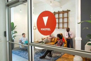 Knotel office space in NoMad.