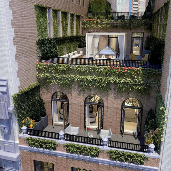 Jennifer Lopez's penthouse apartment in New York City.