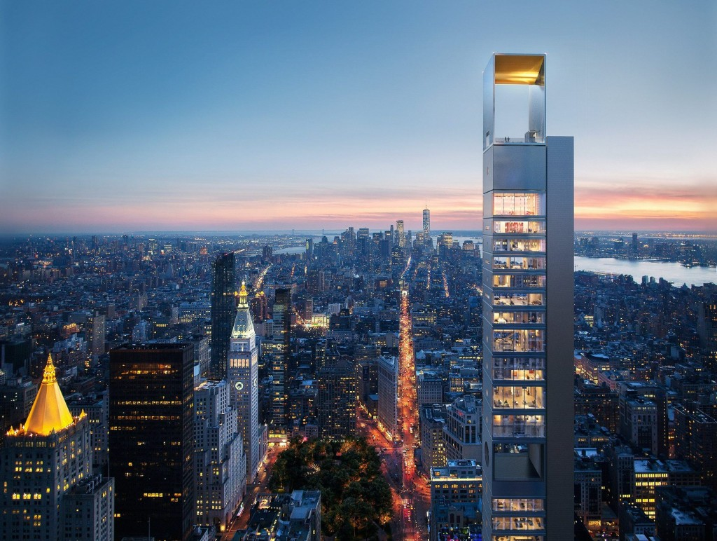 The new skyscraper to be built at 262 Fifth Avenue fifth avenue.