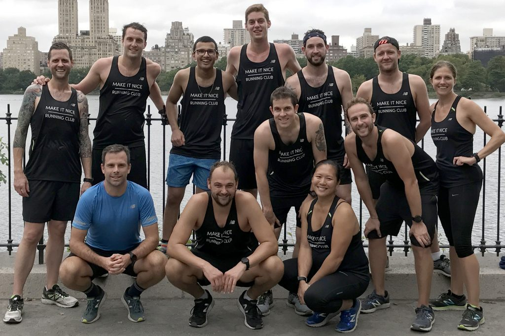 Daniel Humm Leads the Make It Nice Running Club in the NYC Marathon