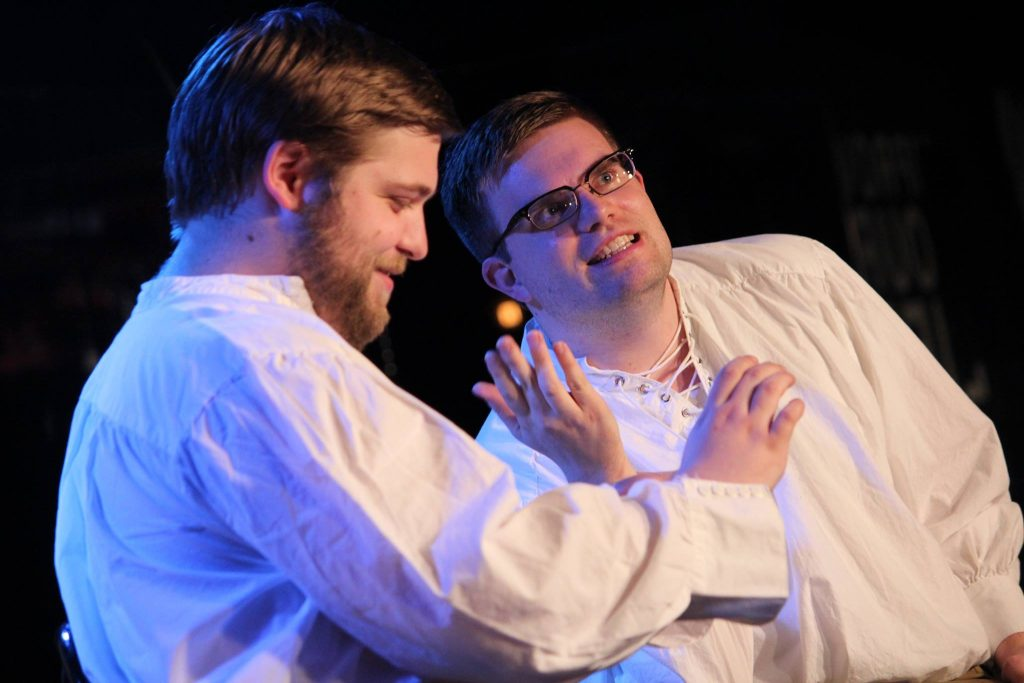 """Come to the People's Improv Theatre in NoMad on Sundays for the """"As You WIll"""" Improv troupe, performing the plays Shakespeare never wrote."""