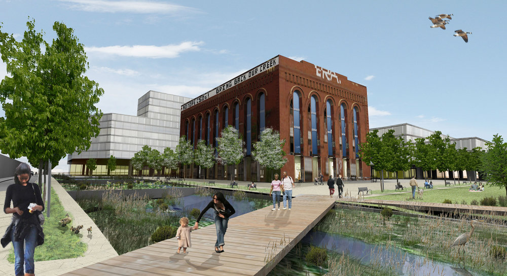 See the Atema Architects proposed design for the Gowanus revitalization in nyc.