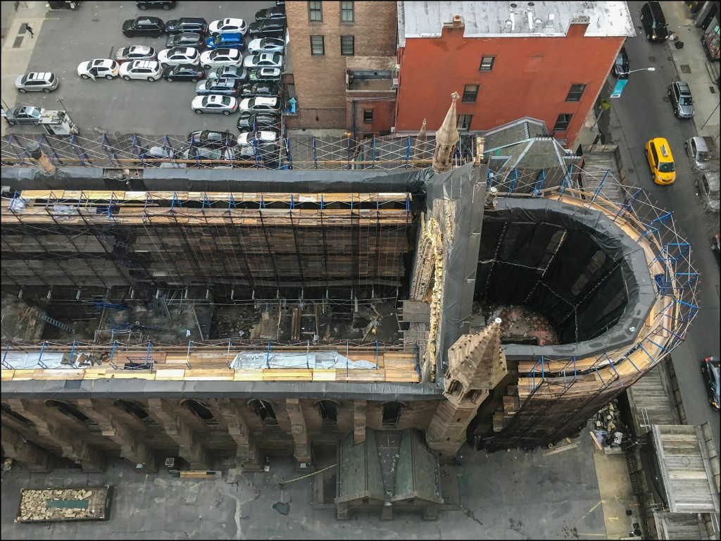 Cathedral of St. Sava Rebuilding Begins