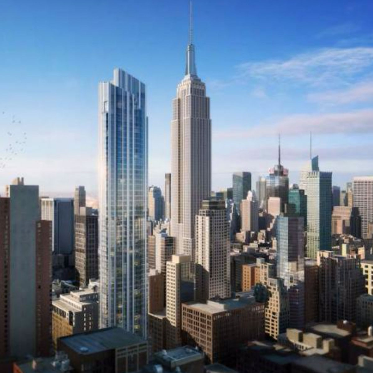 126 Madison Avenue Rising into NoMad Skyline