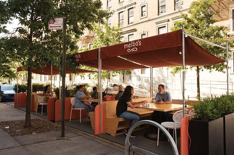 Outdoor dining innovation