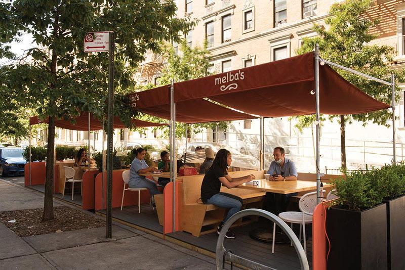 Outdoor dining innovation