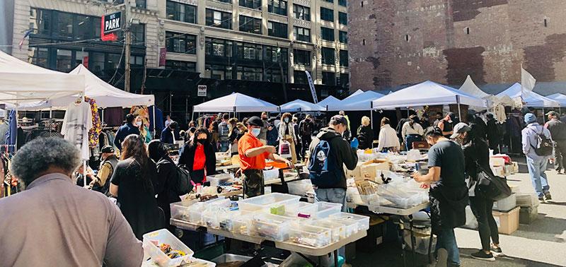 Chelsea Flea Market NoMad
