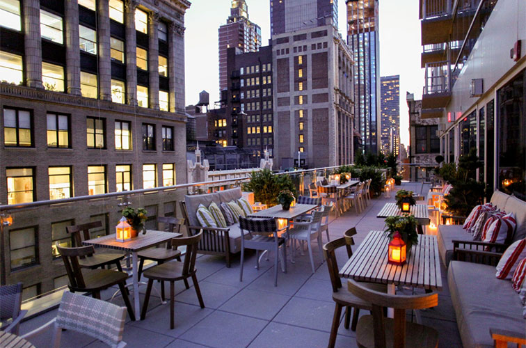 Rooftop Dining NoMad